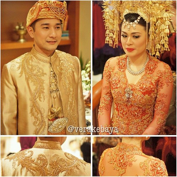 West Sumatra wedding style - by vera kebaya