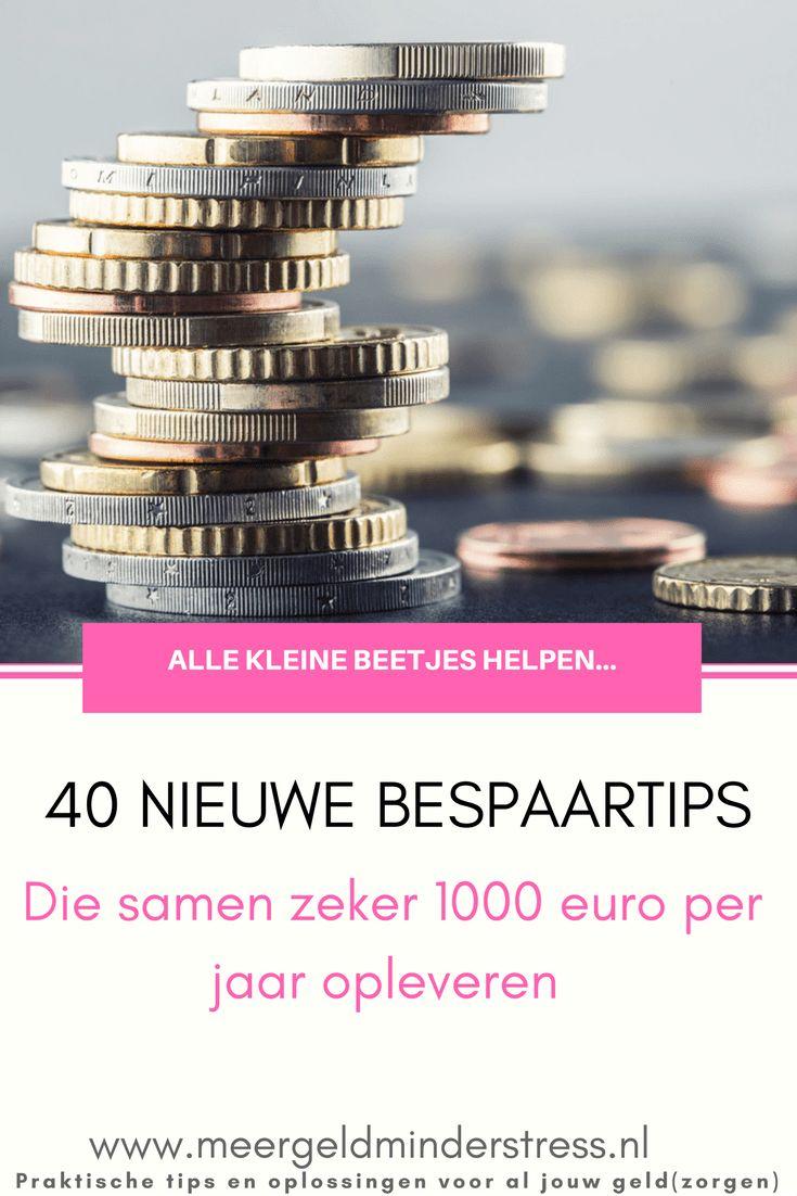 40 nieuwe bespaartips