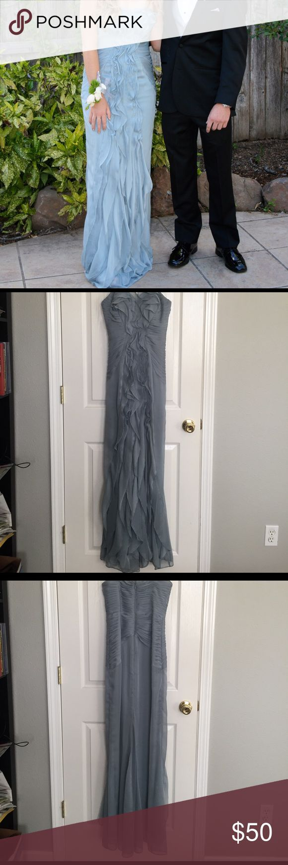 Prom dress Really nice prom dress worn once. Has some minor dirt stains on the bottom but they aren't noticeable when wearing the dress. Feel free to ask questions. Offers welcomed ☺️ Dresses Prom