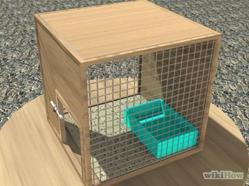 How to Make a Rabbit Cage.