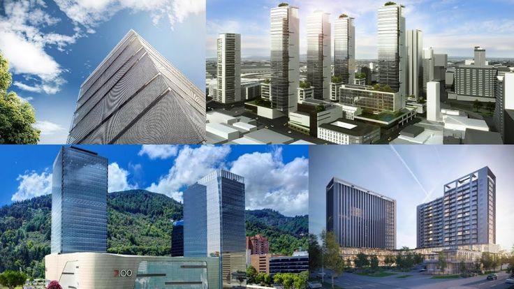 Algunos Proyectos  En Construcción De Edificios en  Bogotá D.C - Colombia