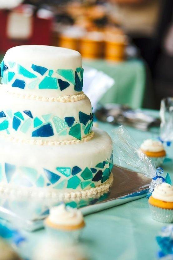 モザイクが可愛いwedding cake12♡にて紹介している画像