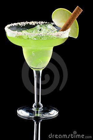 Green apple margarita = signature wedding drink -  themarriedapp.com hearted <3