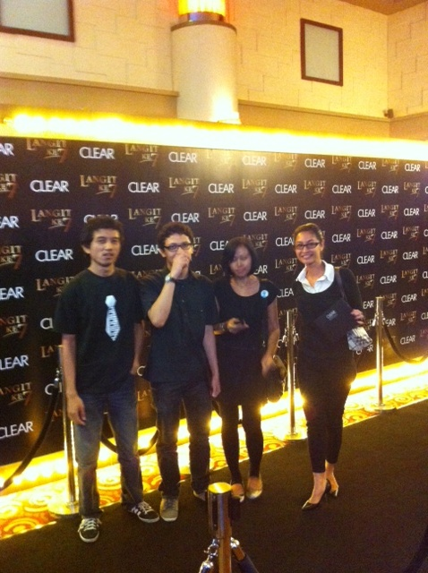 Black Carpet @CLEARindonesia Gala Premiere #LangitKe7 Studio eX, 20 Nov 2012