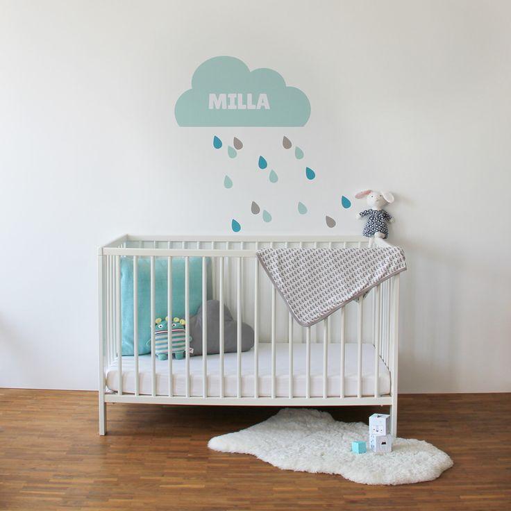 Wolken Wandtattoo Fürs Kinderzimmer / Babyzimmer. Diese Wunderbare Wolke  Kannst Du Sgar Personalisieren: Entweder