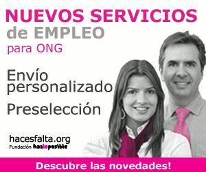 Buscador de trabajo en ONG - hacesfalta.org