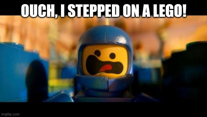 Funny Memes Silly Cool Ironic Joke Popular Witty In 2020 Lego Movie New Funny Memes Step On A Lego