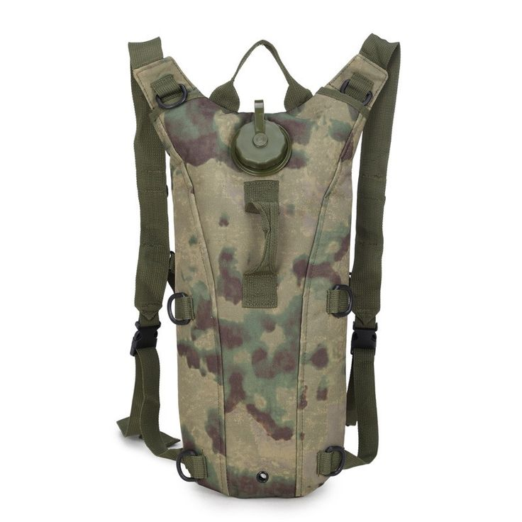 Tactics Trekking Military Kettle Backpack Outside Hydration System Bladder Pouch Men Pochete Camouflage Bag