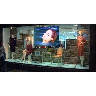 "Insta-RP Series Rear Projection Screen - 16:9 Format 68"" Diagonal by Elite Screens. $227.84. iRP68H Features: -Projection screen.-Self-adhesive optical rear projection material.-Textured PET (polyethylene terephthalate) with diffusion layer.-Material is easy to clean and maintain.-16:9 Format.-Screen gain: 2.2. Options: -Special custom sizes up to 3,000 meters long available. Specifications: -180 Degree wide diffusion uniformity. Dimensions: -68'' Diagonal."