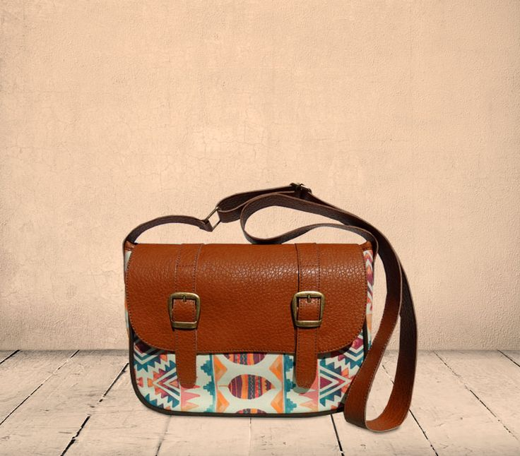 Ethnic crossbody (double strap) by Art Brasilis. Available exclusively at http://kulturebox.co.za in South Africa. #fairtrade #handmade #exclusive #southafrica