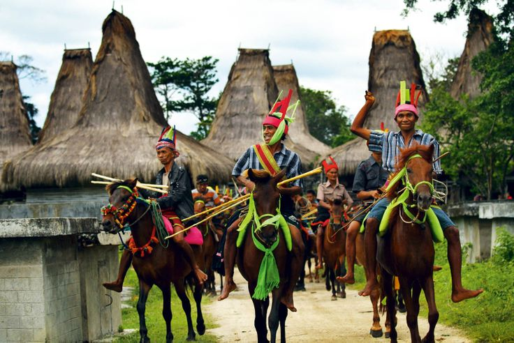 Pasola is an ancient war ritual festival conducted by Sumbanese men in the western part of Sumba island.