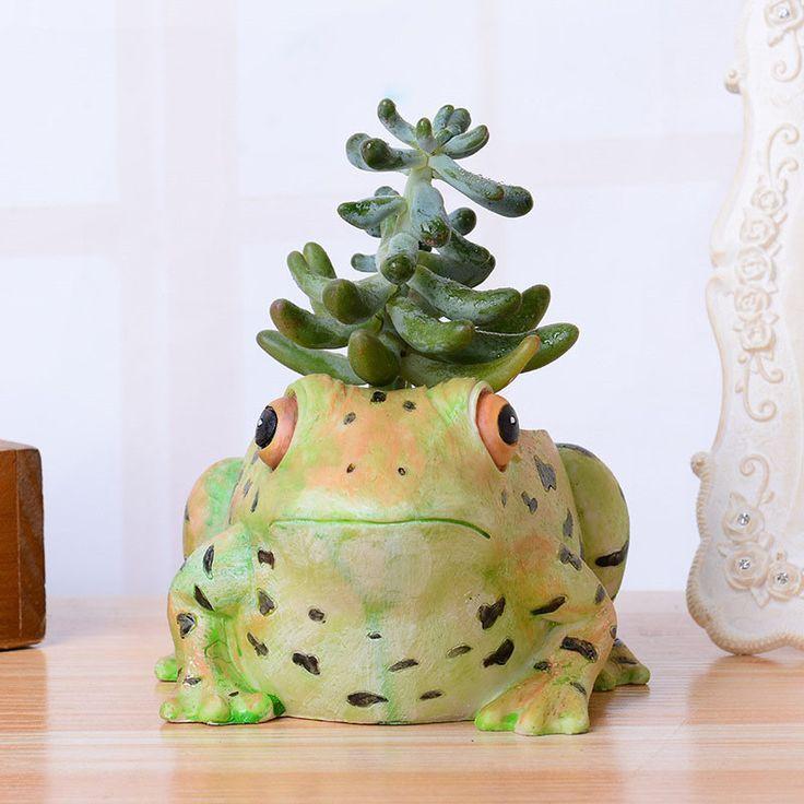 Творческий лягушка обувь цветы растения контейнеры смолы цветочный горшок сочные растения домашний сад Ремесло Декор мини-Настольный бонсай T10