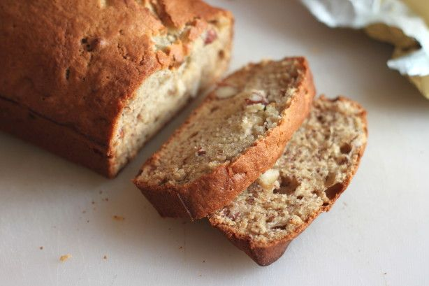 Make and share this Moist & Delicious Banana Nut Bread recipe.