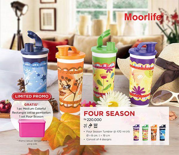 Moorlife Four Season FREE 1 Medium Colorful Rectangle