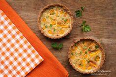 Karotten-Buchweizen-Tarte (glutenfrei)