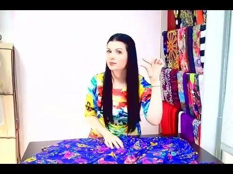Как я шью платья без выкроек - мой ежедневный рабочий процесс - YouTube