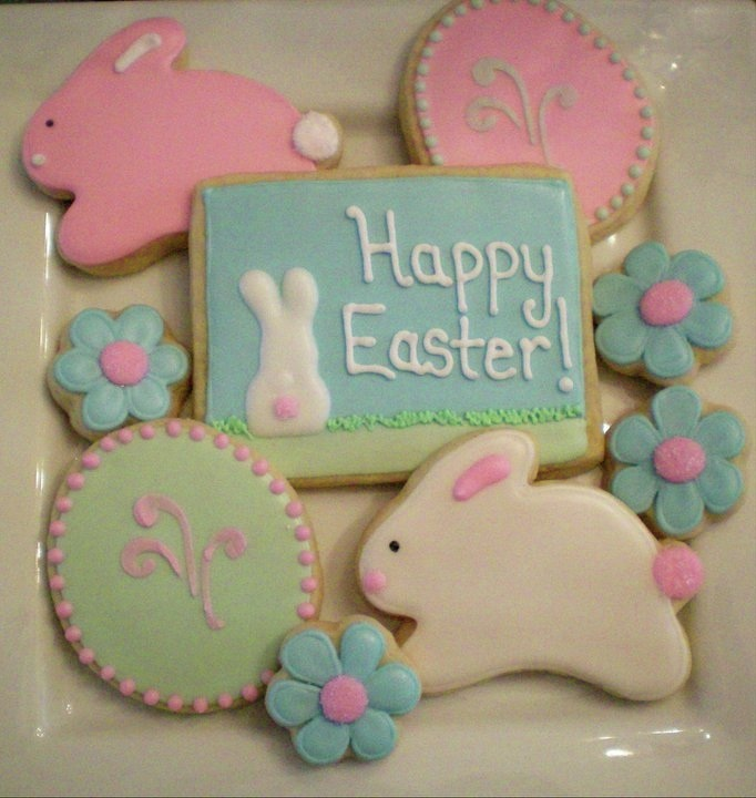 Easter cookies - Lucky Penny Cookies