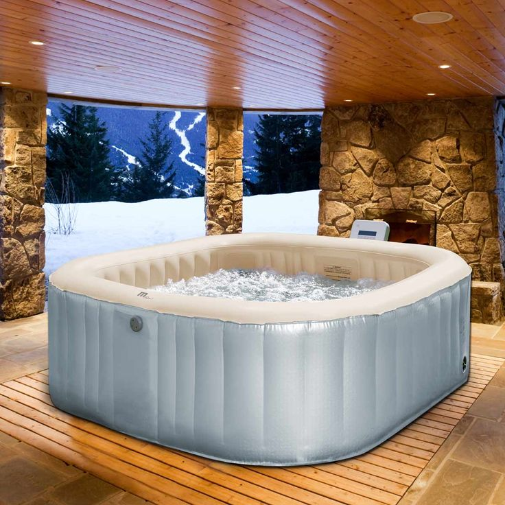 les 25 meilleures id es concernant spa gonflable sur pinterest jacuzzi gonflable 2 places spa. Black Bedroom Furniture Sets. Home Design Ideas