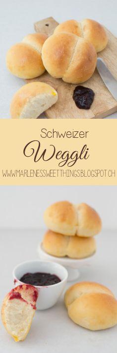 Schweizer Weggli kennt jeder. Die luftigen Brötchen sind ganz einfach gemacht. Das weiche Brot gehört zu Schweiz wie Schokolade.