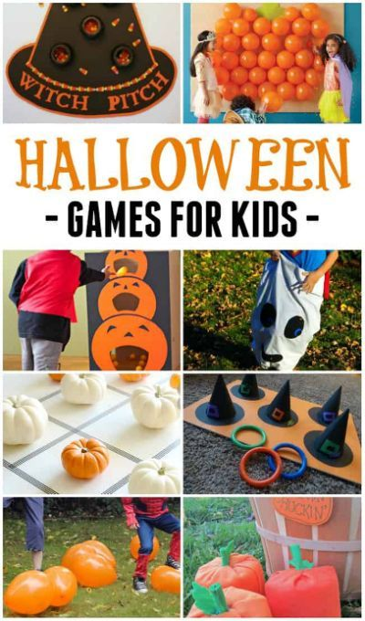 Halloween Party Games for Kids Halloween party Pinterest - kid halloween party ideas