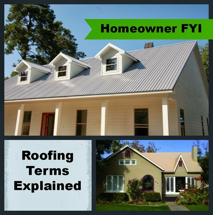 The metal roofing alliance blog homeowner tips roofing for House roof terminology