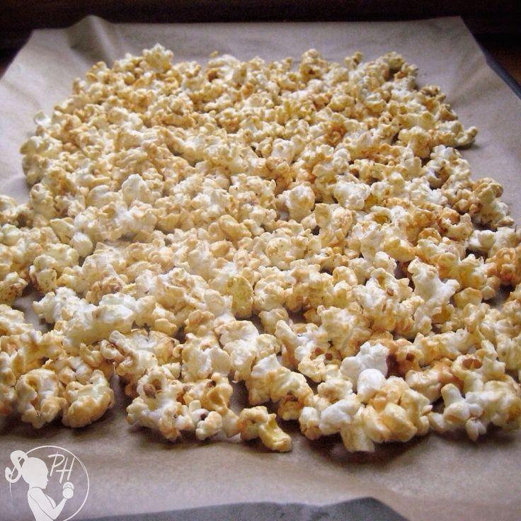 Paige Hathaway's healthy popcorn snack