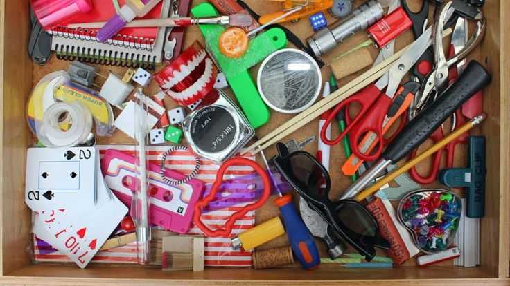 Want to really know someone or get more in touch with who you really are? Well, here's one novel place to look for answers: the kitchen junk drawer.