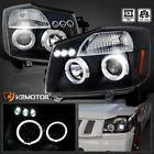 #headlights #ebay #bestprice #cars #motors  LED Halo Projector Headlights Black For 2004-2015 Nissan Titan/2004-2007 Armada