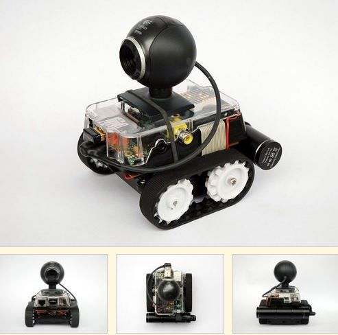 Learn how to make mobile robots with Raspberry Pi http://www.retas.de/thomas/raspberrypi/pibot-b