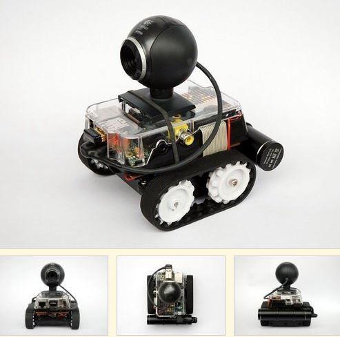 Learn how to make mobile robots with Raspberry Pi http://www.retas.de/thomas/raspberrypi/pibot-b