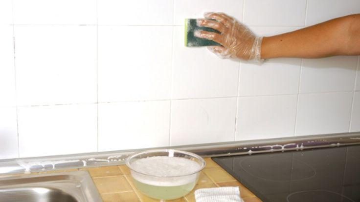 Cómo pintar azulejos paso a paso - Paso 1