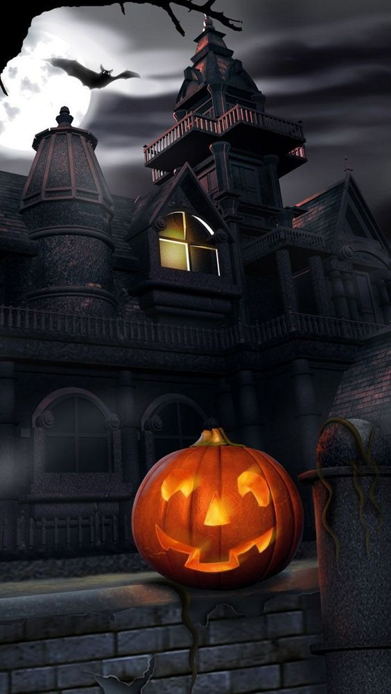 Halloween Scene, Halloween Night, Halloween Art, Halloween Stuff, Happy  Halloween, Wallpaper Backgrounds, Wallpaper App, Live Wallpapers, Iphone  Wallpapers