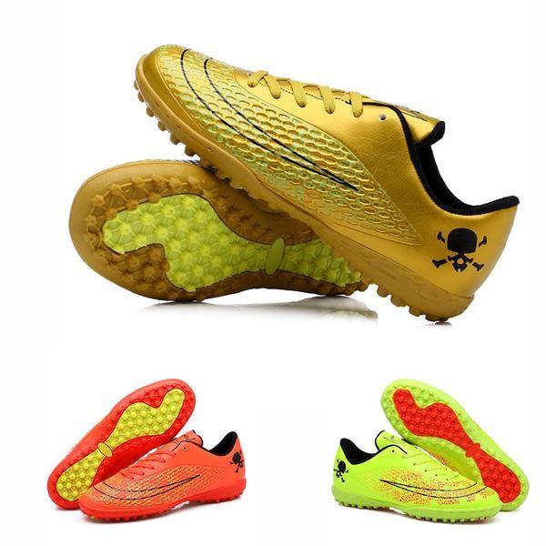 Niños Mens Calzado de Fútbol Para Niños Pista Dura Adultos Zapatos de  Deporte Zapatillas de Deporte Al Aire Libre Botines de Fútbol Botas de  Fútbol ... 4900c1c8c85ba