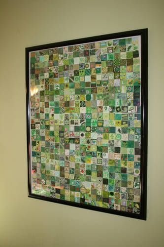 I would love to have an inchie collage this big! So cool!