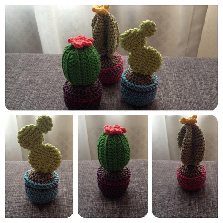 Gehaakte cactus