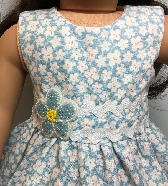 18 doll dress made to fit like an American Girl Doll