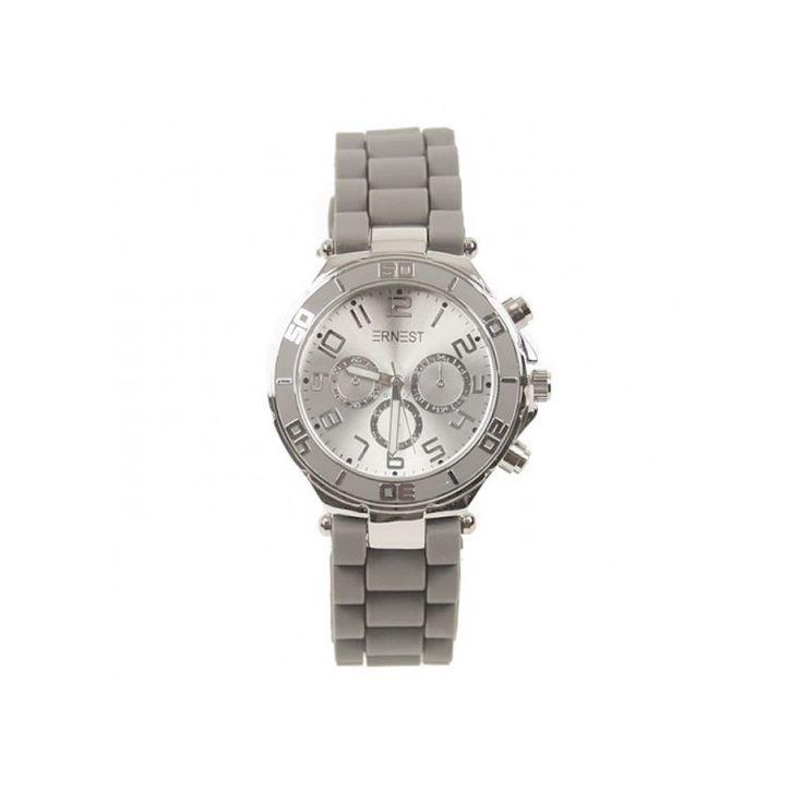 We hebben nu ook eindelijk de variant met een zilveren klok! Heb jij al een mooi silicone horloge om jouw pols? Met dit silicone horloge van Ernest maak jij jouw pols tot een feestje. Door de verstelbare band is het horloge gemakkelijk aan te passen naar ieders maat.