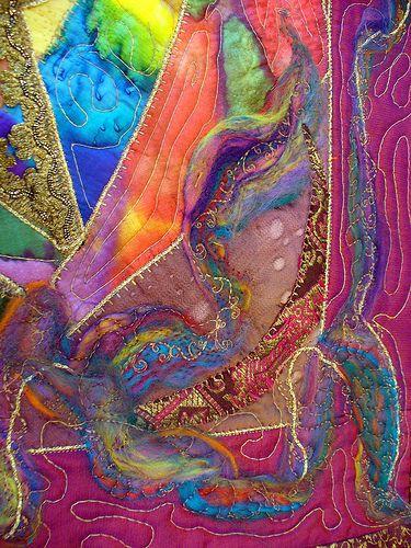 fiber art by Suziequ