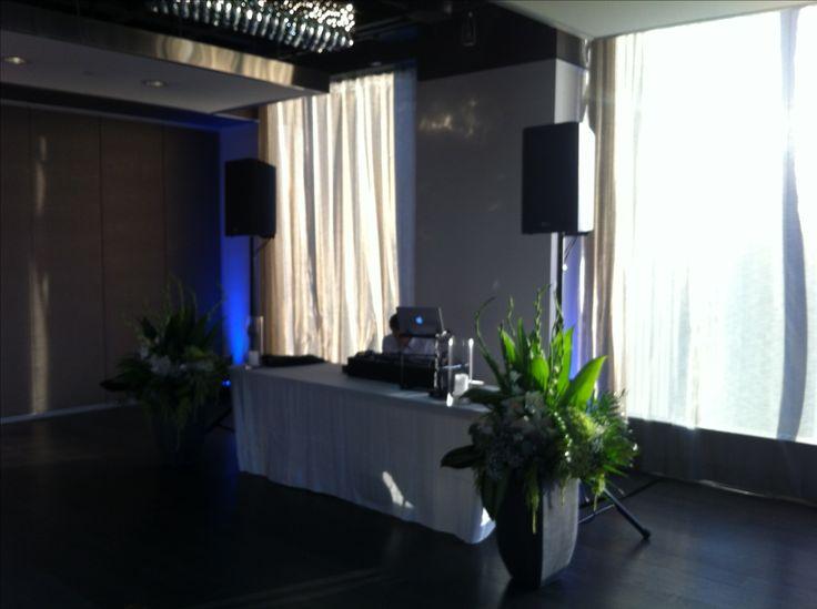 DJ Setup at Arcadian Loft    http://events.oliverbonacini.com/Venues/Arcadian-Loft.aspx