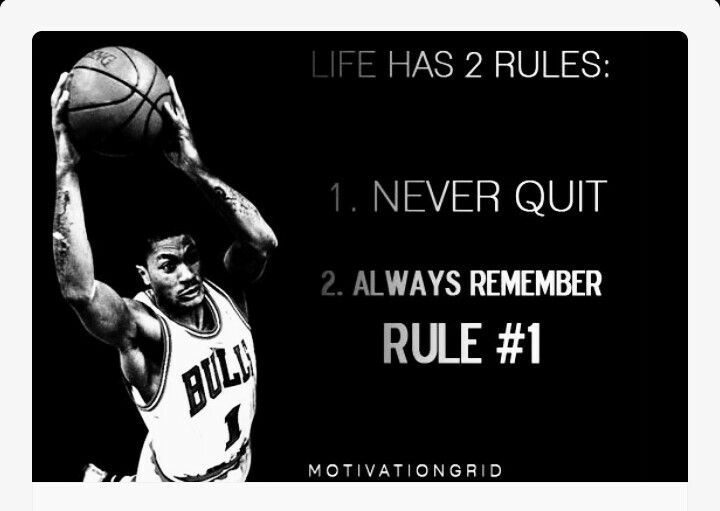 2 Rules in life