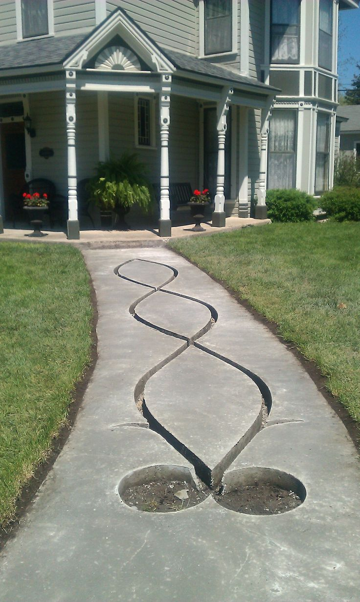 12 best my victorian home images on pinterest victorian for Removing concrete walkway