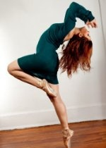 Teal Ballet Neck Sweater Dress by KD dance, Free Flowing, Fashionable & Designed For Dance, Made In New York USA
