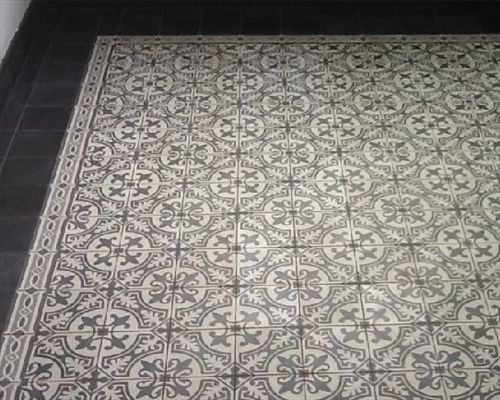 Impressie van oude antieke tegels en portugese tegels hal pinterest entrance halls - Oude patroon tegel ...