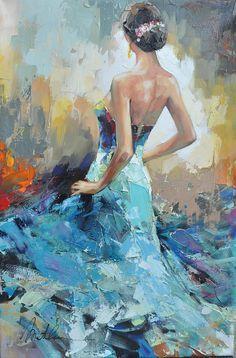 Lady III Anatoly Metlan Oil 2014