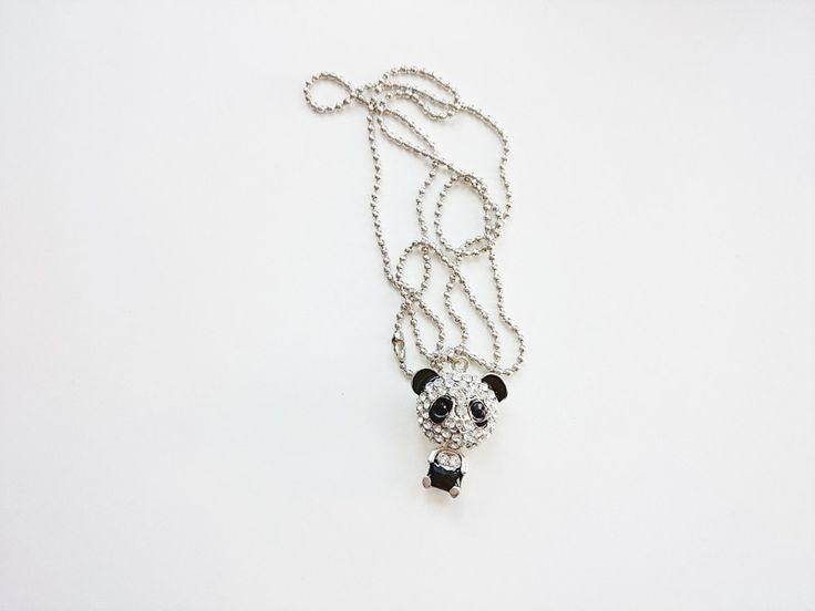 Geschenke für Frauen - Panda Halskette geschenkideen geschenk - ein Designerstück von atelier-house-decor bei DaWanda