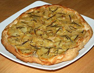 Ricetta Focaccia patate e rosmarino (Pizze, focacce, pane e torte salate) [VeganHome]