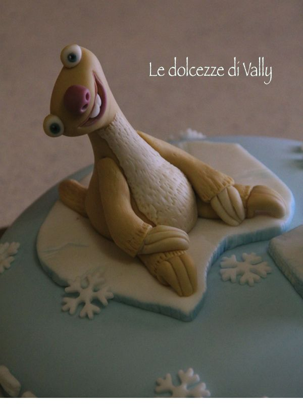 Ice Age cake — Birthday Cakes