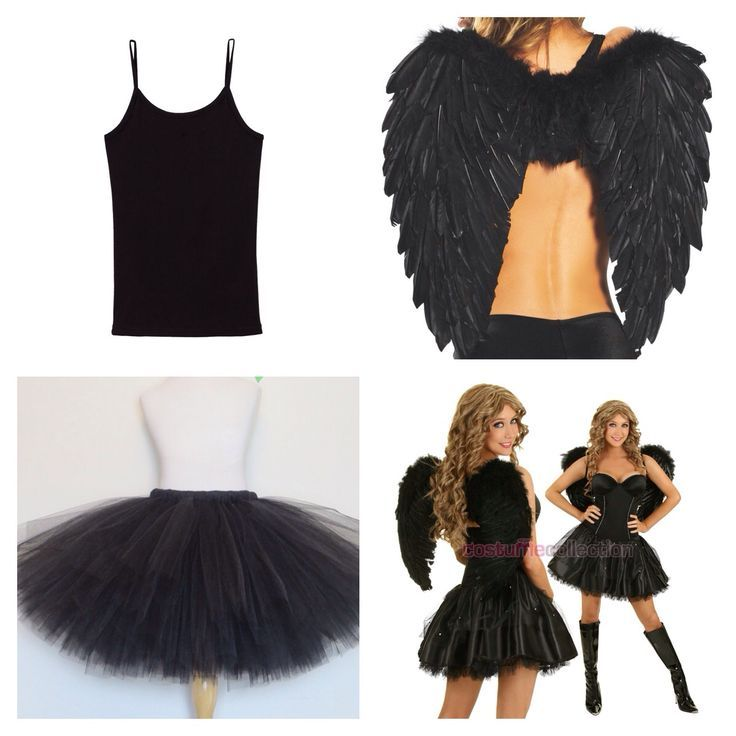 angel 23 quick and easy halloween costumes for women - Easy Homemade Halloween Costumes For Teenage Girl