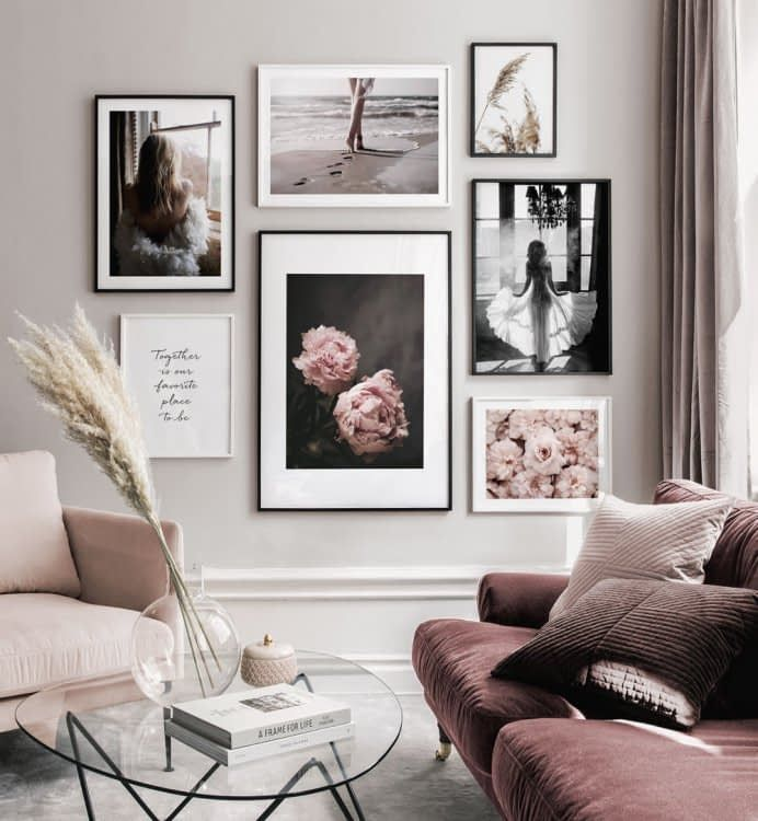 Gallery Wall Inspiration Shop Your Gallery Wall Posterstore Com Gallery Wall Living Room Rooms Home Decor Wall Art Living Room