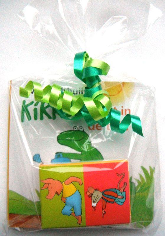 Kikker uitdeelboekje met Kikker Rozijntjes, kant en klaar gemaakt!